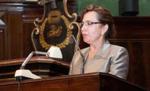 Dra. Elvia Barrios Alvarado Presidenta de la Red Latinoamericana de Jueces (Perú)