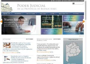 Nueva página web de la Suprema Corte de Justicia de la Provincia